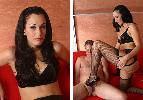 Fishnet CBT Mistress