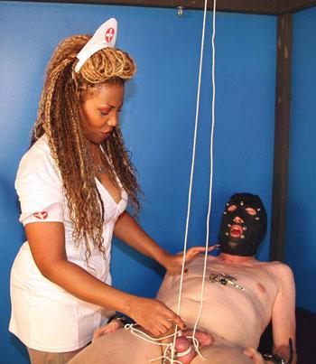 Ebony Femdom Nurse