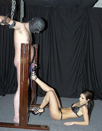 Nude pics bdsm cbt chair
