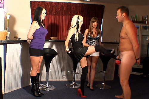 ballbusting group